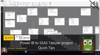 PowerBI To SSAS Tabular Project