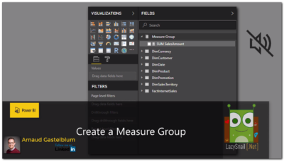 Power BI – Create a Measure Group