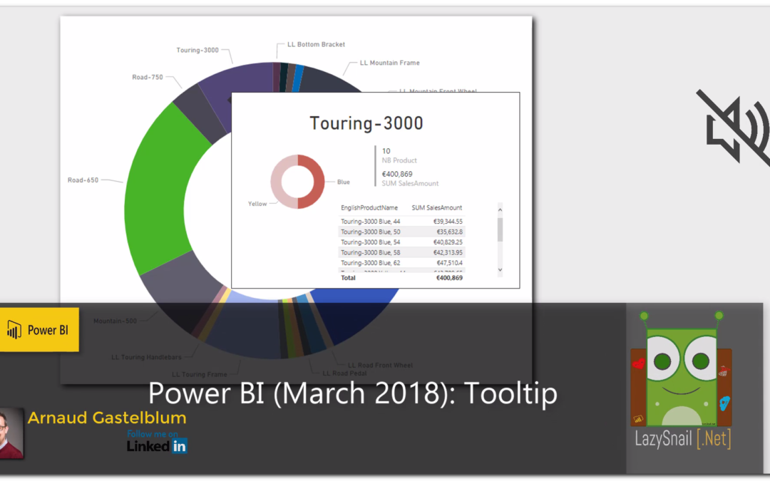 Power BI (March 2018) – Report Page ToolTip