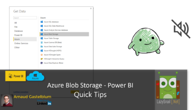Azure Blob Storage and Power BI – Quick Tips