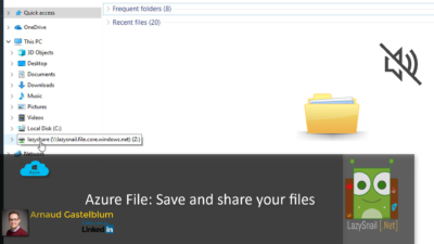 Azure File Storage – Share Drive