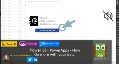Power BI – PowerApps – Microsoft Flow: Do more with your data