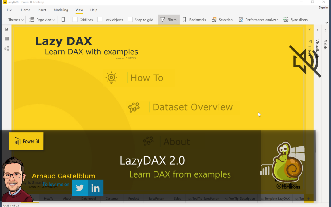 LazyDAX V2: Learn DAX from examples